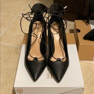 Spring Lace up heels size 8.5